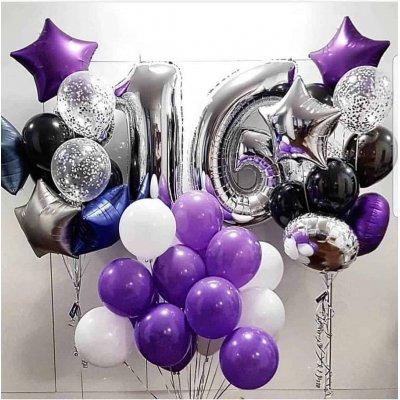 Воздушные шары  на 16 лет