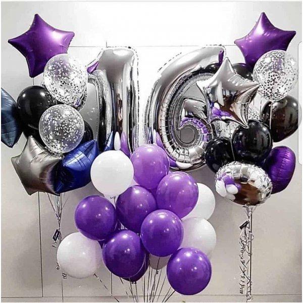 Воздушные шары. Доставка в Москве: Воздушные шары  на 16 лет Цены на https://sharsky.msk.ru/