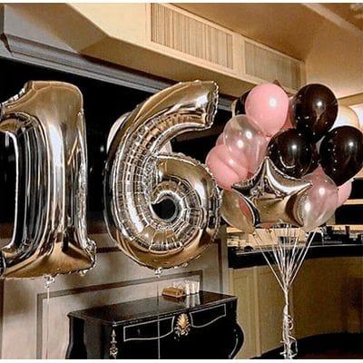 Шарики на День Рождения 16 лет