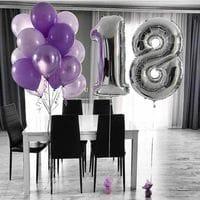 Воздушные шарики на 18 лет