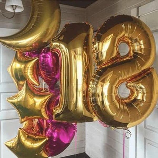 Воздушные шары. Доставка в Москве: Молодость и красота Цены на https://sharsky.msk.ru/