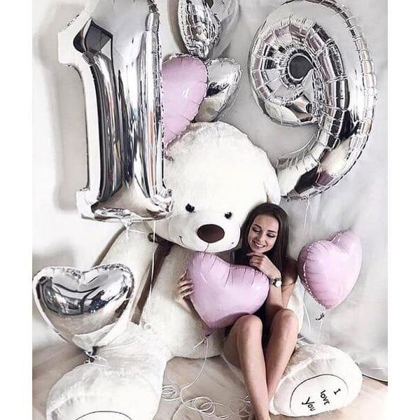 Воздушные шары. Доставка в Москве: Воздушные шары на День Рождения 19 лет Цены на https://sharsky.msk.ru/