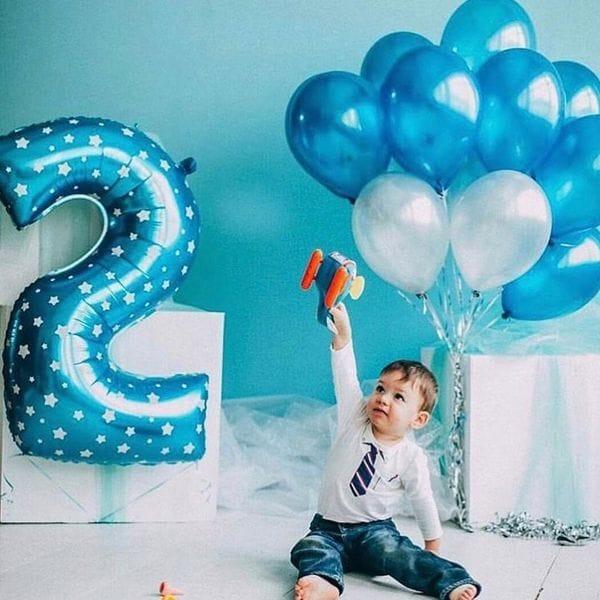 Воздушные шары. Доставка в Москве: Шарики на 2 года мальчику Цены на https://sharsky.msk.ru/