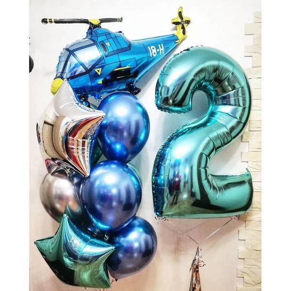 Воздушные шары. Доставка в Москве: Шарики на День Рождения мальчику 2 года Цены на https://sharsky.msk.ru/