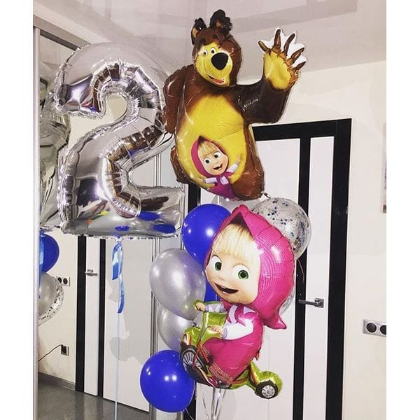 Воздушные шары. Доставка в Москве: Шары на 2 годика девочке Цены на https://sharsky.msk.ru/