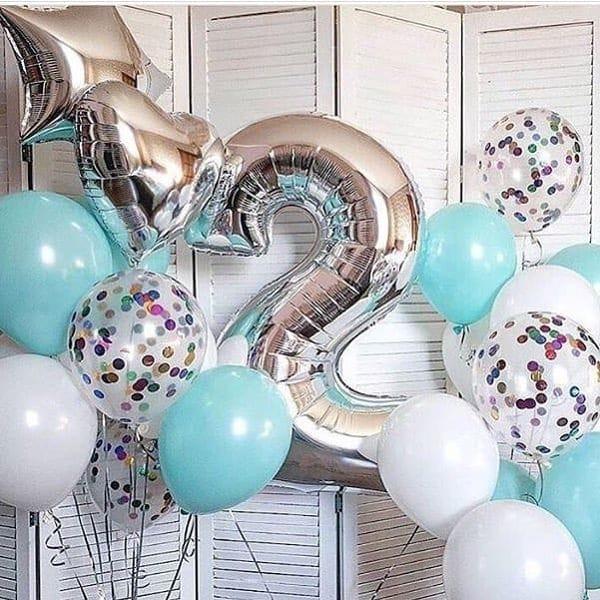 Воздушные шары. Доставка в Москве: Шарики на День Рождения ребенку 2 года Цены на https://sharsky.msk.ru/