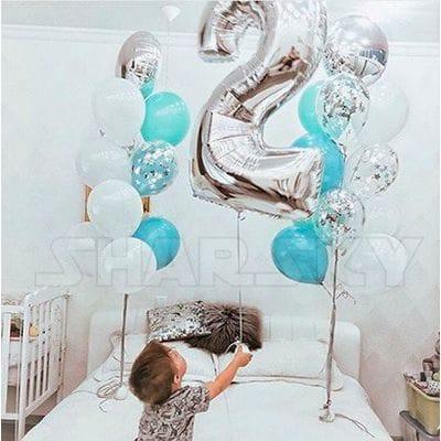 Шары на 2 года мальчику
