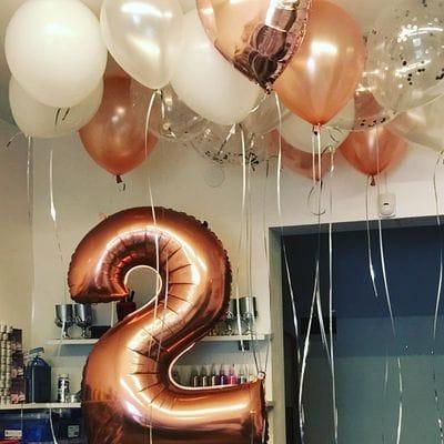 Воздушные шары на 2 года