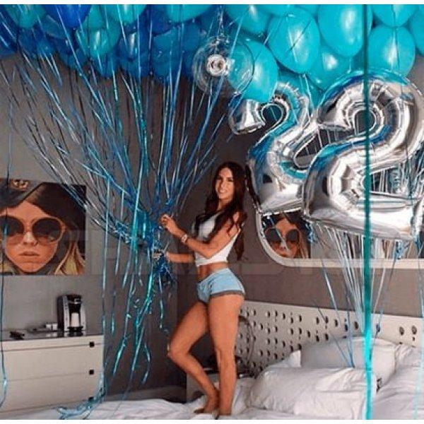 Воздушные шары. Доставка в Москве: Шары на День Рождения 22 года Цены на https://sharsky.msk.ru/