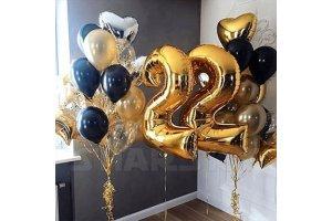 Шарики на День Рождения 22 года