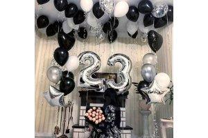 Шарики на День Рождения 23 года