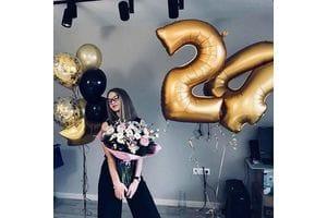 Шары на 24 года