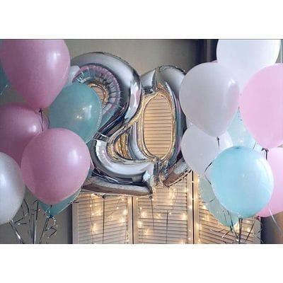 Гелиевые шары на 20 лет