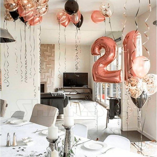 Воздушные шары. Доставка в Москве: Воздушные шары на 21 год Цены на https://sharsky.msk.ru/