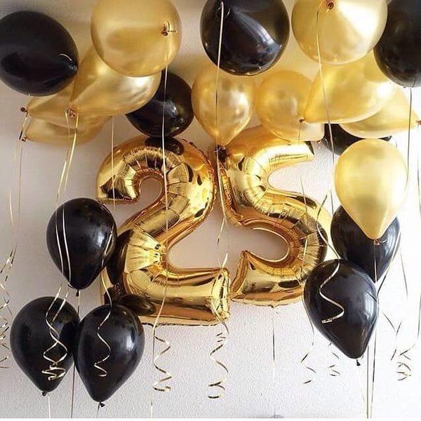 Воздушные шары. Доставка в Москве: Воздушные шары на 25 лет Цены на https://sharsky.msk.ru/
