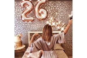 Шары на 26 лет для любимой
