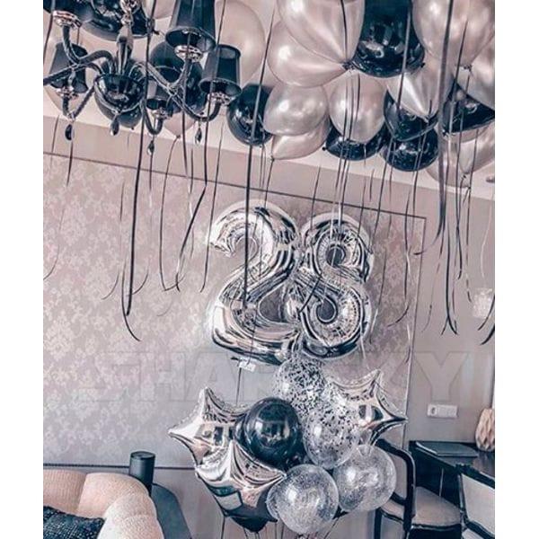 Воздушные шары. Доставка в Москве: Шары на День Рождения 28 лет Цены на https://sharsky.msk.ru/