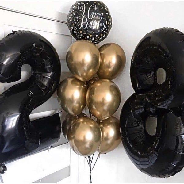 Воздушные шары. Доставка в Москве: Шары на 28 лет мужчине Цены на https://sharsky.msk.ru/