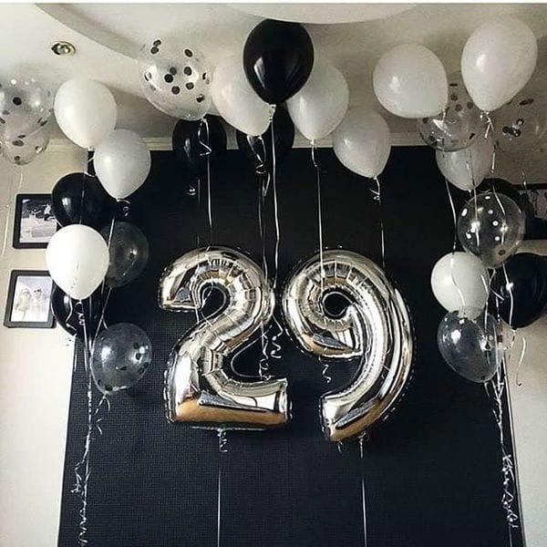 Воздушные шары. Доставка в Москве: Шары на 29 лет Цены на https://sharsky.msk.ru/