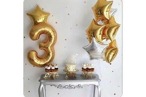 Шарики на День Рождения 3 года