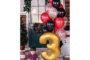 Шарики на День Рождения ребенку 3 года