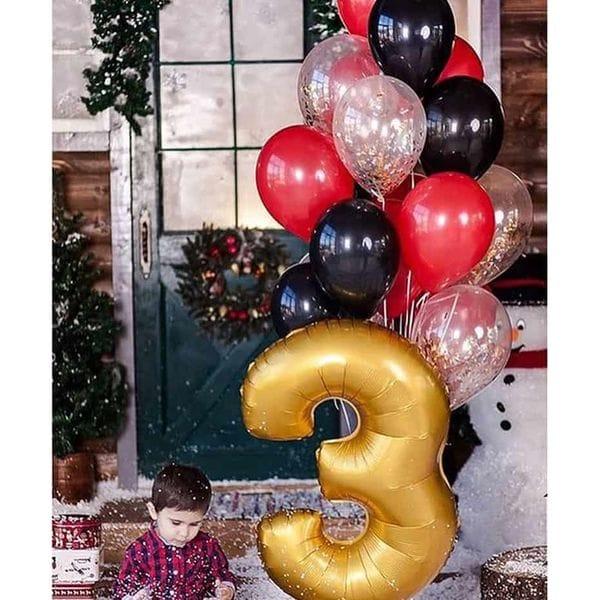 Воздушные шары. Доставка в Москве: Шарики на День Рождения ребенку 3 года Цены на https://sharsky.msk.ru/