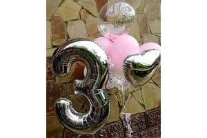 Шары на День Рождения ребенку 3 года