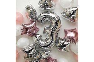 Шары на День Рождения ребенку 3 годика