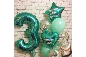 Воздушные шары на День Рождения ребенку 3 года