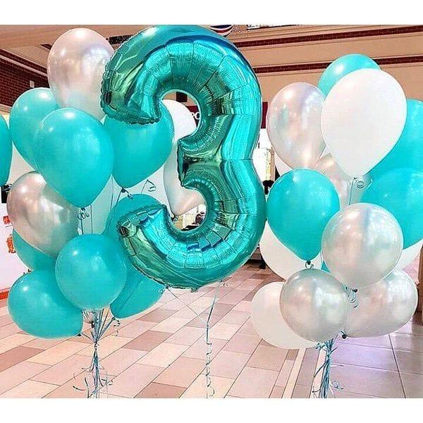 Воздушные шары. Доставка в Москве: Шары на День Рождения 3 года Цены на https://sharsky.msk.ru/