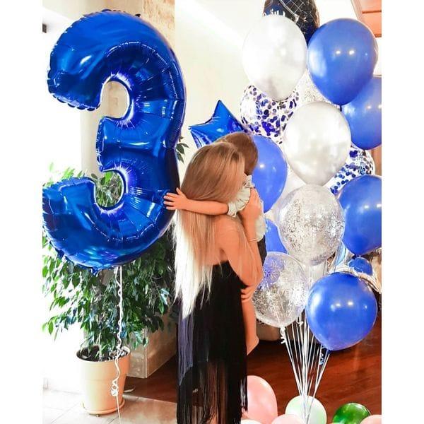 Воздушные шары. Доставка в Москве: Шары на День Рождения мальчику 3 года Цены на https://sharsky.msk.ru/