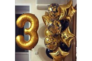 Воздушные шары на 3 года