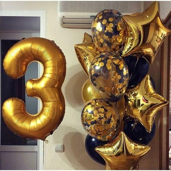 Воздушные шары. Доставка в Москве: Воздушные шары на 3 года Цены на https://sharsky.msk.ru/