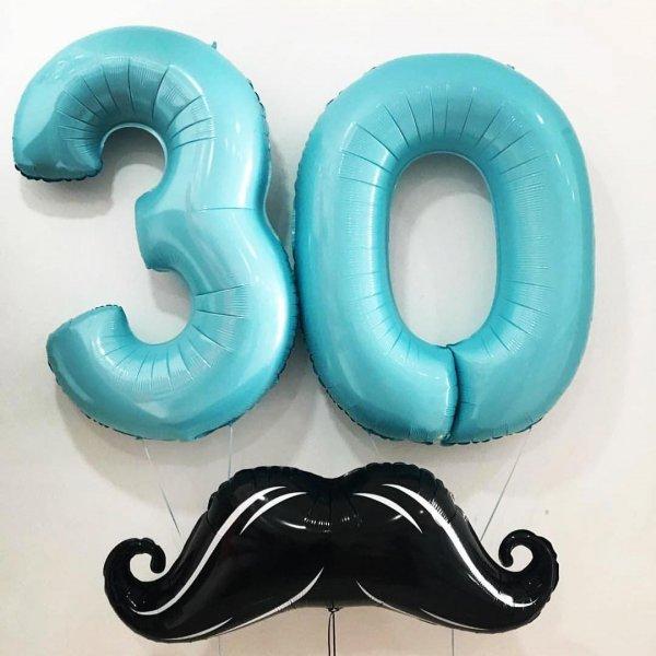 Воздушные шары. Доставка в Москве: Шарики на День Рождения 30 лет Цены на https://sharsky.msk.ru/