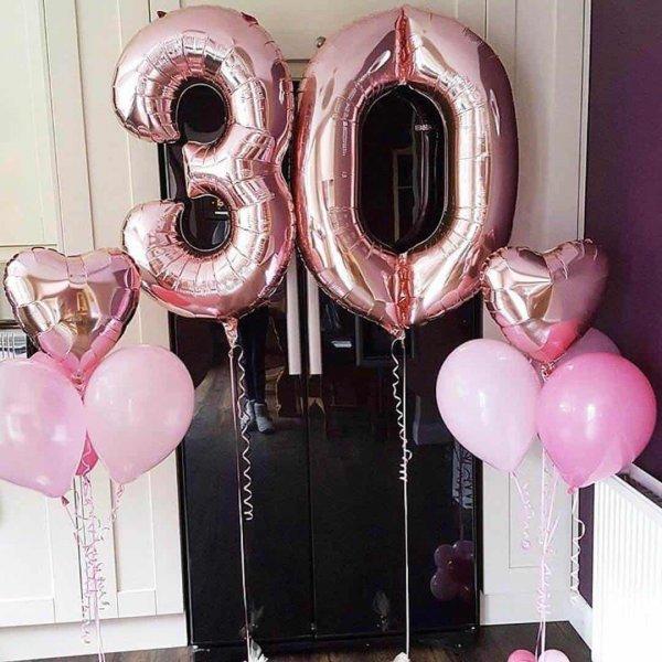 Воздушные шары. Доставка в Москве: Воздушные шары на 30 лет девушке Цены на https://sharsky.msk.ru/