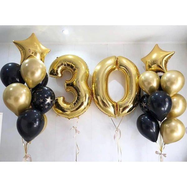 Воздушные шары. Доставка в Москве: Фонтаны шаров на 30 лет парню Цены на https://sharsky.msk.ru/