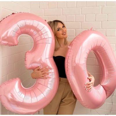 Шары-цифры на 30 лет
