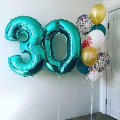 Шары на 30-летие