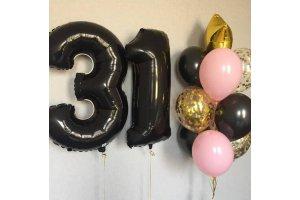 Букет шаров на 31 год