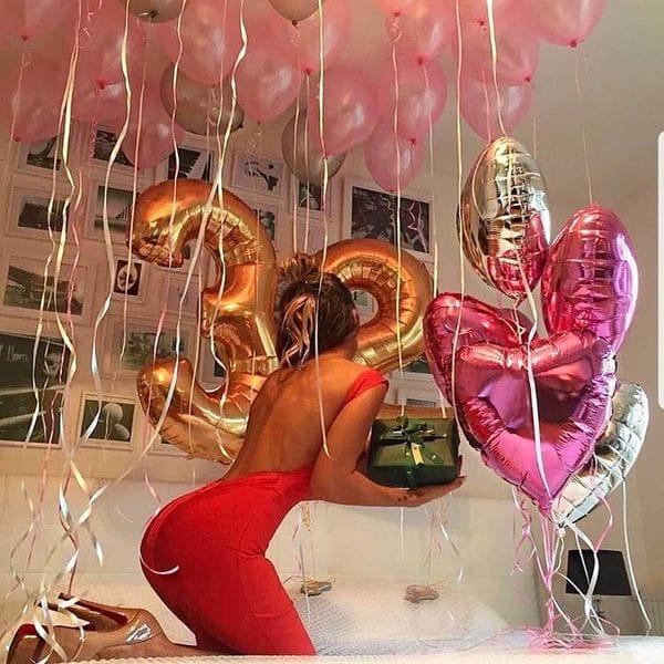 Воздушные шары. Доставка в Москве: Шары на 32 года девушке Цены на https://sharsky.msk.ru/
