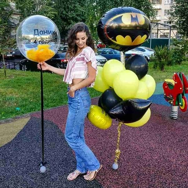 Воздушные шары. Доставка в Москве: Шары на День Рождения мальчику 4 года Цены на https://sharsky.msk.ru/