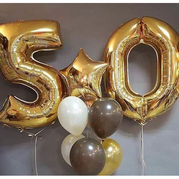 Воздушные шары. Доставка в Москве: Шары на 50 лет мужчине Цены на https://sharsky.msk.ru/