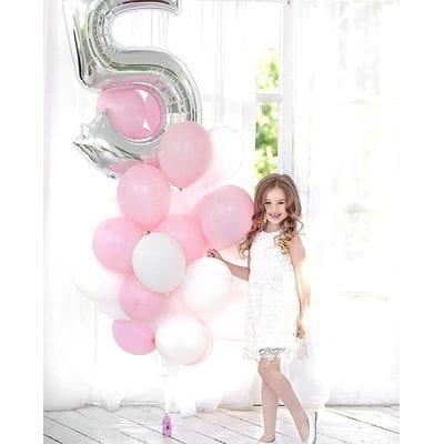 Фонтан шаров на 5 лет девочке