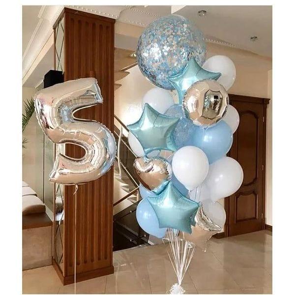 Воздушные шары. Доставка в Москве: Шарики на День Рождения ребенку 5 лет Цены на https://sharsky.msk.ru/