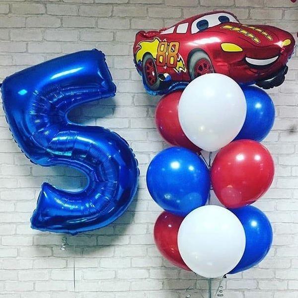 Воздушные шары. Доставка в Москве: Шарики на День Рождения мальчику 5 лет Цены на https://sharsky.msk.ru/