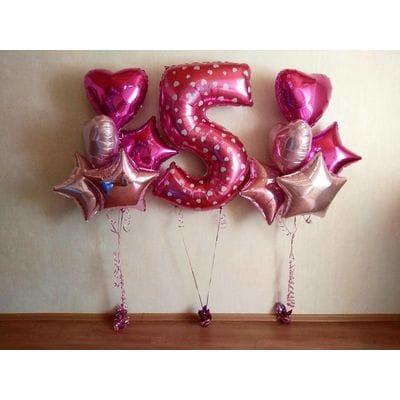 Шары на День Рождения ребенку 5 лет