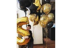 Букет шаров на 5 лет