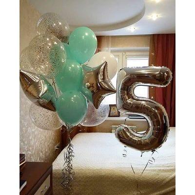 Шары на День Рождения мальчику 5 лет