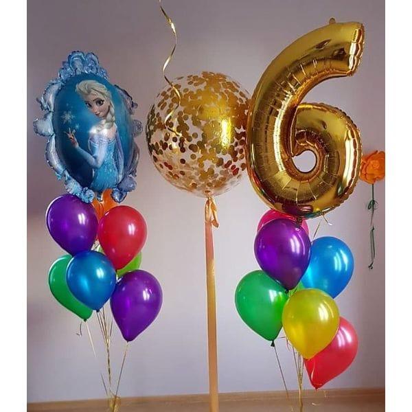 Воздушные шары. Доставка в Москве: Шары на День Рождения ребенку 6 лет Цены на https://sharsky.msk.ru/
