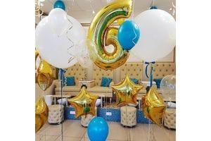 Шары на День Рождения мальчику 6 лет